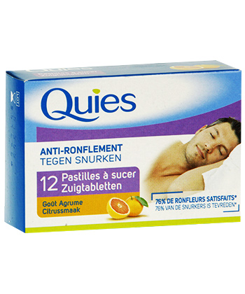 Quies Pastilles Anti-Ronflement