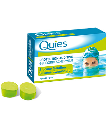 Quies Protections auditives Silicone Natation Adulte