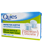 Quies Silicone Anti-Bruit