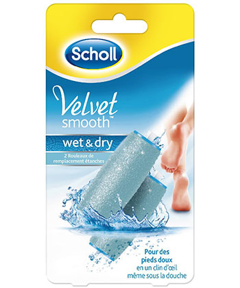 Scholl Recharges Velvet Smooth Wet & Dry