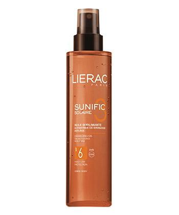 Lierac Sunific Huile Sublimante SPF6