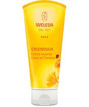 Weleda Crème lavante Corps et Cheveux au Calendula
