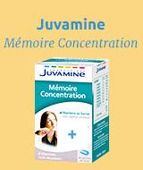 Juvamine Mémoire Concentration