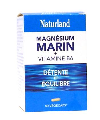Naturland Magnésium marin + Vitamine B6