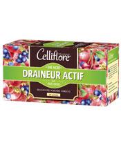 Celliflore Thé Noir - Draineur Actif