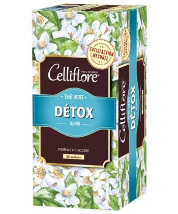 Celliflore Thé Vert Détox