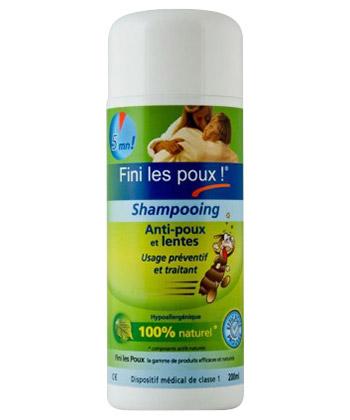 Fini les Poux Shampoing anti-poux et lentes