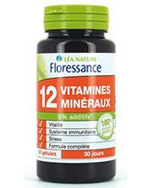 Floressance 12 Vitamines et minéraux