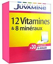 Juvamine 12 vitamines et 8 minéraux