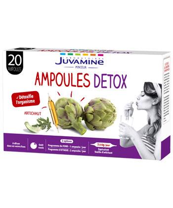 Juvamine Ampoules Détox