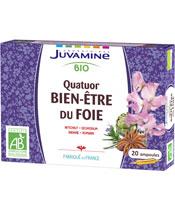 Juvamine Bio Quatuor Bien-Être du Foie