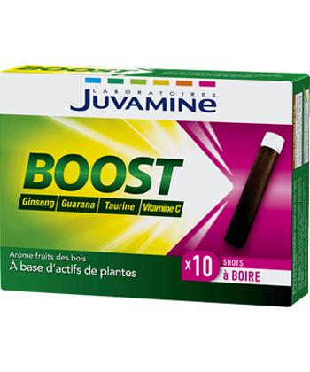 Juvamine Boost Ginseng, Guarana, Taurine et Vitamine C