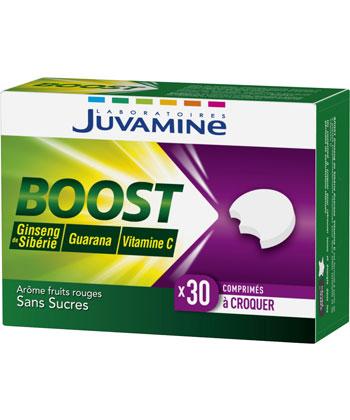 Juvamine Boost Ginseng, Guarana, Vitamine C