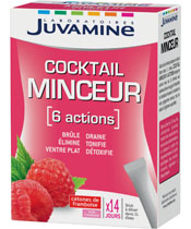 Juvamine Cocktail minceur 6 actions