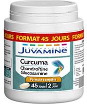 Juvamine Curcuma Chondroïtine Glucosamine