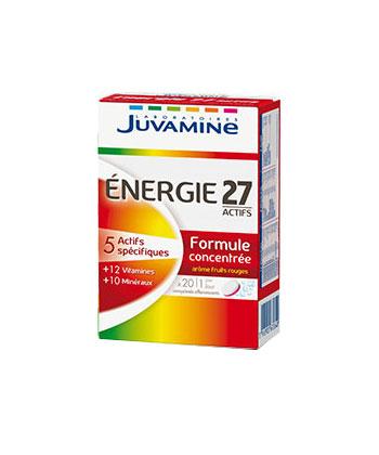 Juvamine Energie 27 Actifs