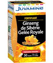 Juvamine Ginseng de Sibérie, Gelée Royale