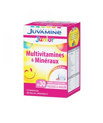 Juvamine Junior Multivitamines et Minéraux