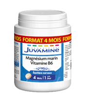 Juvamine Magnésium Marin + Vitamine B6