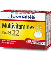 Juvamine Multivitamines Gold22