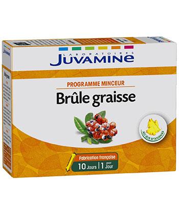 Juvamine Programme Minceur Brûle Graisse Thé Vert Guarana