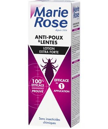 Marie Rose Lotion Extra Forte Poux et Lentes