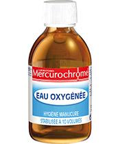 Mercurochrome Eau Oxygénée