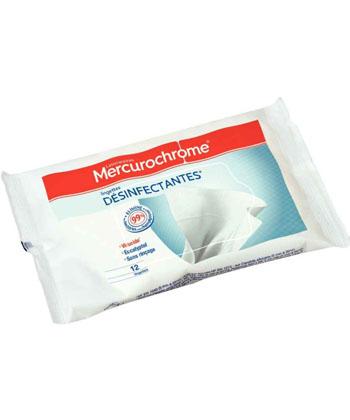 Mercurochrome Lingettes désinfectantes