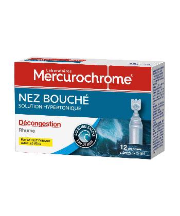 Mercurochrome Nez Bouché