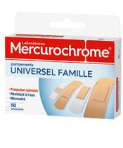 Mercurochrome Pansement Universel Famille