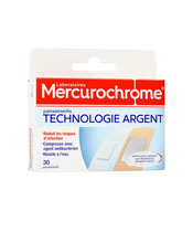 Mercurochrome Pansements Technologie Argent