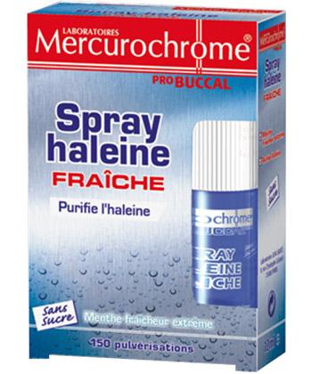 Mercurochrome Spray haleine fraiche