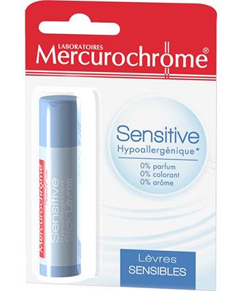 Mercurochrome Stick à Lèvres Sensitive