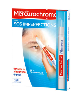 Mercurochrome Stylo SOS Imperfections