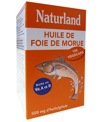 Naturland Huile de Foie de Morue