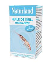 Naturland Huile de Krill  Manganèse