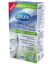 Optone ActiMist® 2en1 Yeux fatigués + Inconfort