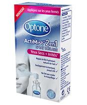 Optone ActiMist® 2en1 Yeux Secs + Irrités