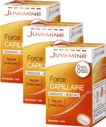 Juvamine Force capillaire