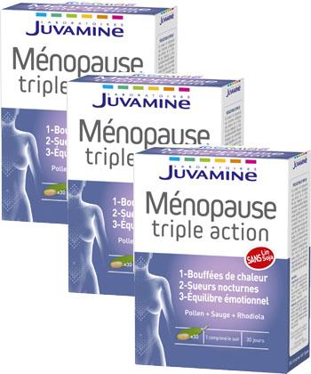 Juvamine Ménopause Triple Action