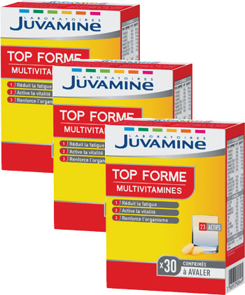 Juvamine Top Forme Multivitamines
