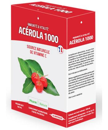 Pharm & Nature Acérola 1000