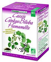 Pharm & Nature Cassis Ginkgo Biloba Hamamélis