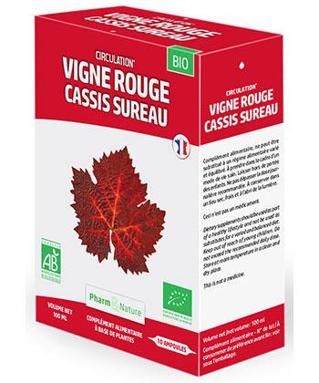 Pharm & Nature Vigne rouge Cassis Sureau