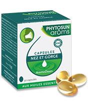 Phytosun Aroms Capsules nez et gorge