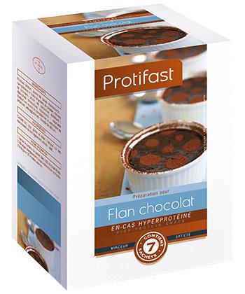 Protifast Flan au Chocolat