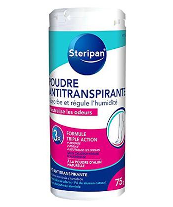 Steripan Poudre Antitranspirante