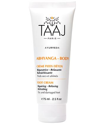 Taaj Abhyanga Crème Pieds Détox
