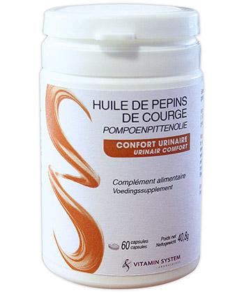 Vitamin System Huile de Pépins de courge
